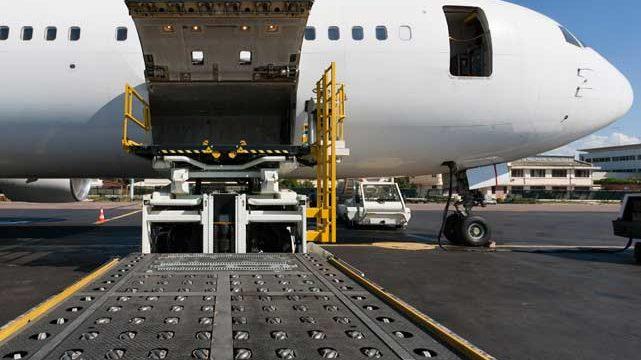 Transporte aereo desde China