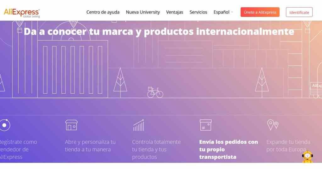 Ventajas de vender en AliExpress España