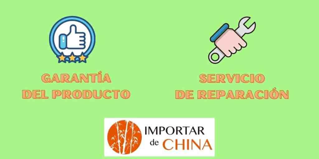Productos con garantía y reparación