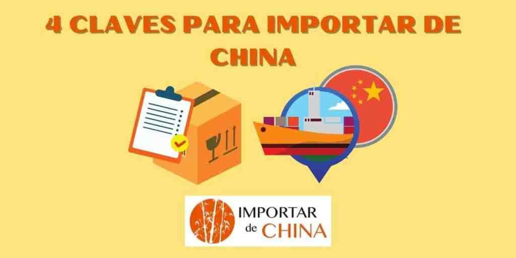 Claves para importar de China