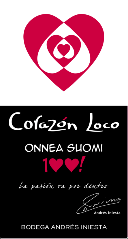 Corazon Loco Red
