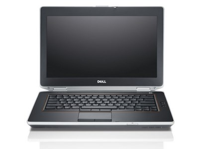 Dell Latitude E6420 notebook featured on white background.