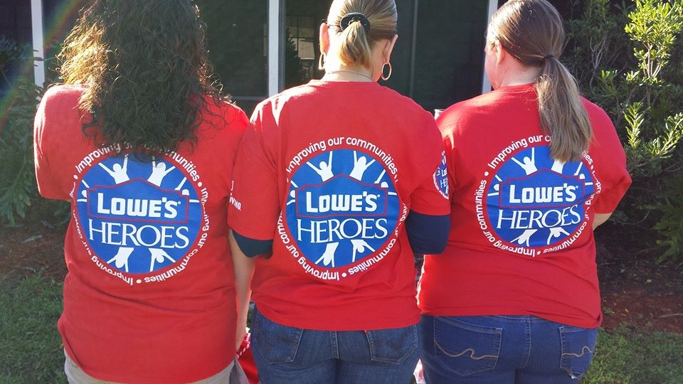 Lowes Heroes Projects Benefits Aging Out Youth IMPOWER