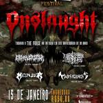 ONSLAUGHT no United Bands Festival – Em Jandira – SP