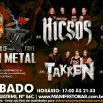 The Old School of Brazilian Metal reúne Hicsos, Vodu, Redentor e Takken