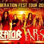 Kreator e Arch Enemy confirmam cinco shows no Brasil