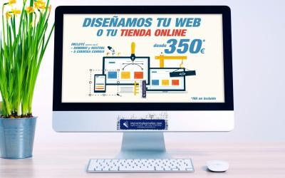 Diseño página WEB y Tiendas Online