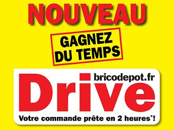 brico depot commande drive impresa