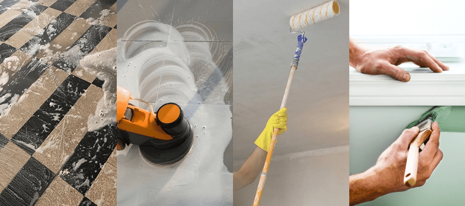 trattamento pavimenti - imbianchino milano