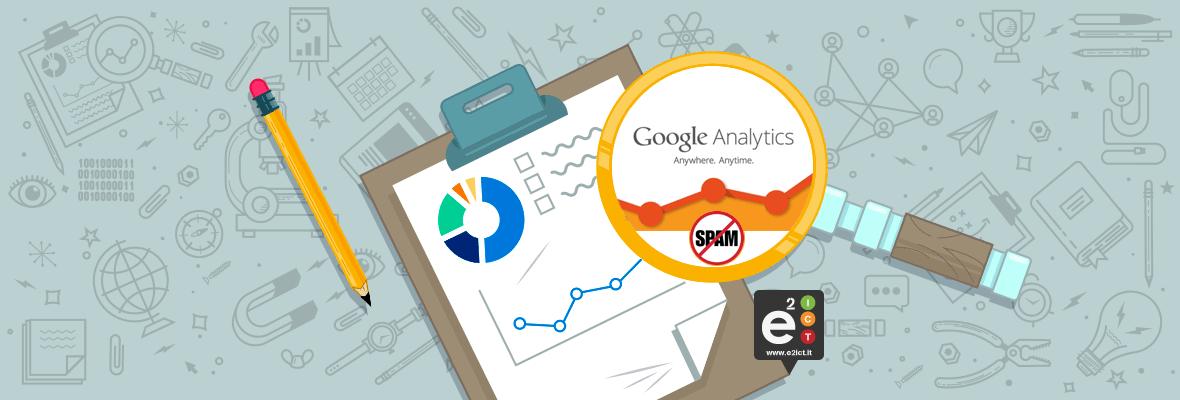 Eliminare lo SPAM da Google Analytics