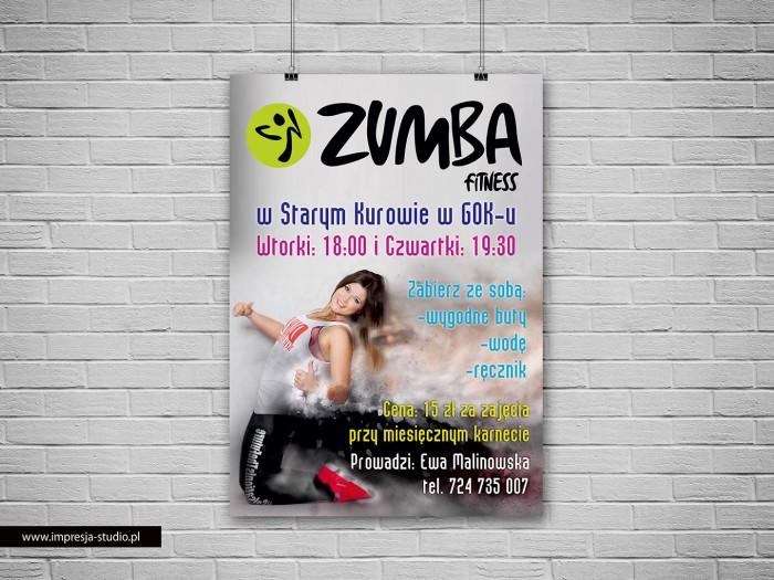 Plakat Zumba Fitness