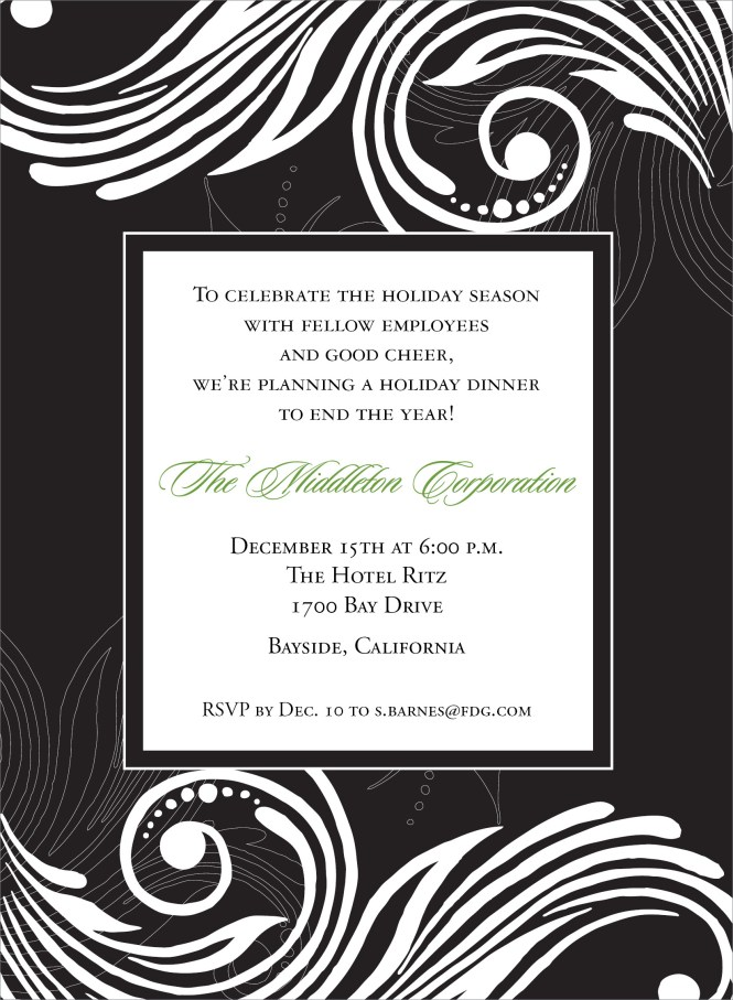 Formal Dinner Invitation Wording Is The Newest And Best Concepts Of Magnificent Invitations 2