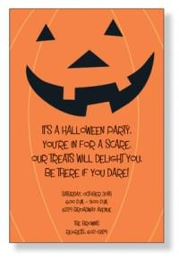 free halloween potluck invitation