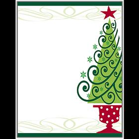 Holiday Amp Seasonal CHRISTMAS Stationery Papers 85 X 11
