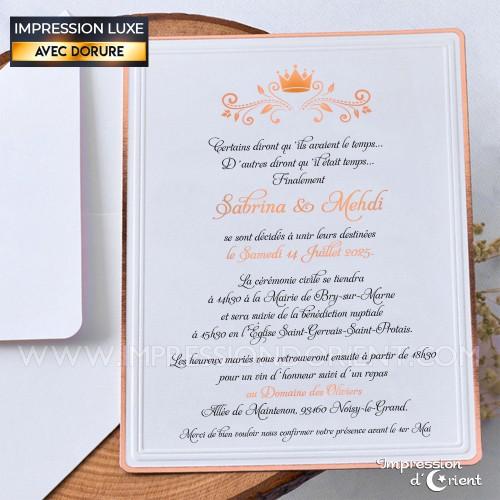 faire part mariage transparent calque