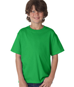 Kids Custom Short Sleeve Shirts Fruit Of The Loom Heavy