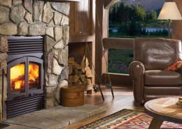 Regency Classic™ R90 Large Wood Fireplace