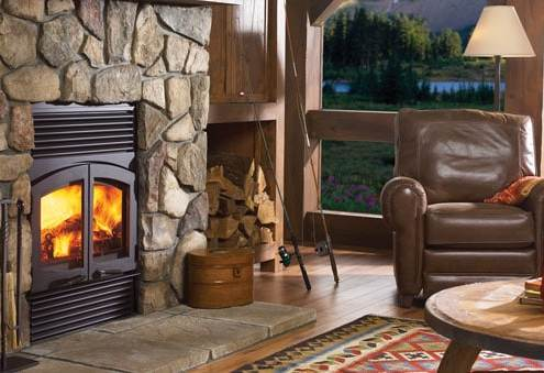 Regency Classic™ R90 Large Wood Fireplace