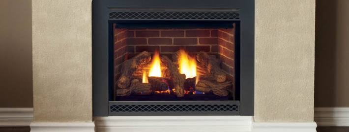 Cameo Direct Vent Gas Fireplace by Majestic Products