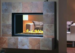 Montigo HL Series See Through Fireplace