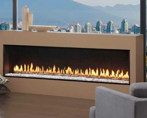 Outdoor See Through Fireplaces Ottawa Indoor Outdoor