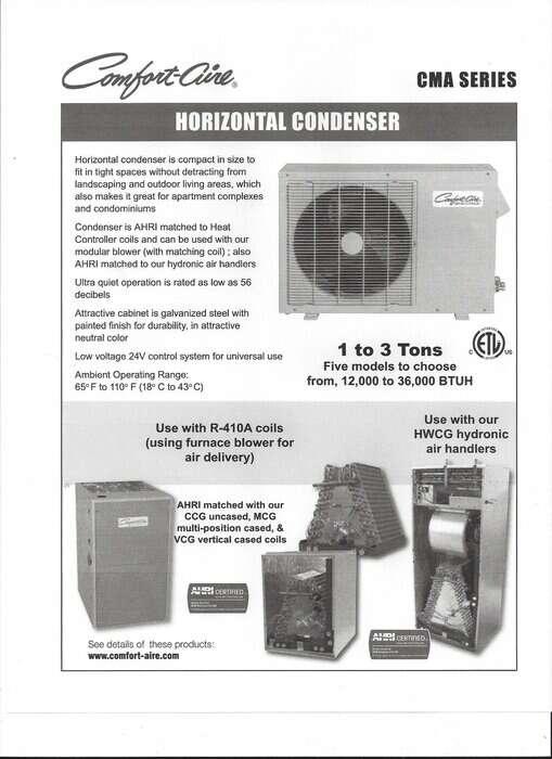 Comfort-aire-Brochure-Ottawa-Impressive-Climate-Control