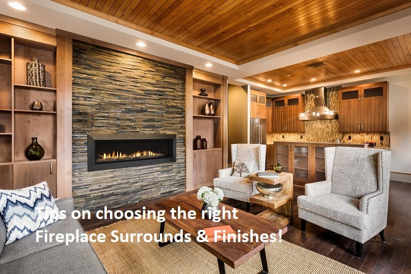 Fireplace Surrounds Amp Finishes What You Should Know When