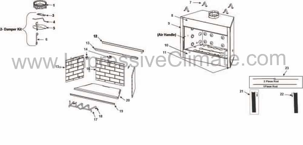 Heatilator Element El36 Price Parts Manual Impressive Climate