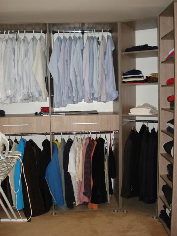 Useful Design Ideas To Organize Your Bedroom Wardrobe Closets 30