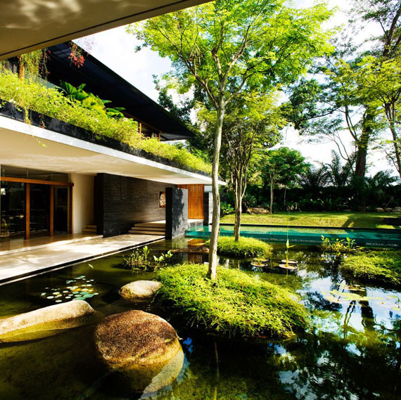 The Cluny House 5 sustainable architecture by Guz Architects