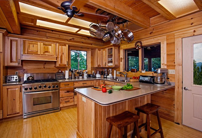 Cabin Design Ideas For Inspiration 7 Log Interior