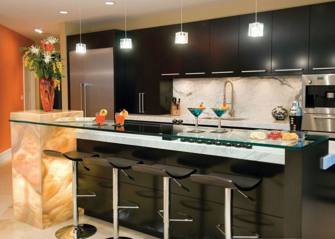 How To Decorate Above Kitchen Cabinets Simple Image