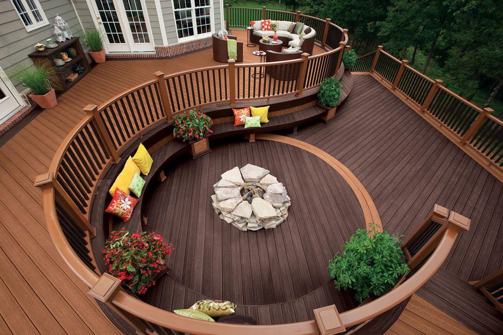 Creative Outdoor Deck Ideas For A Nice Backyard on Nice Backyard Landscaping Ideas id=57878