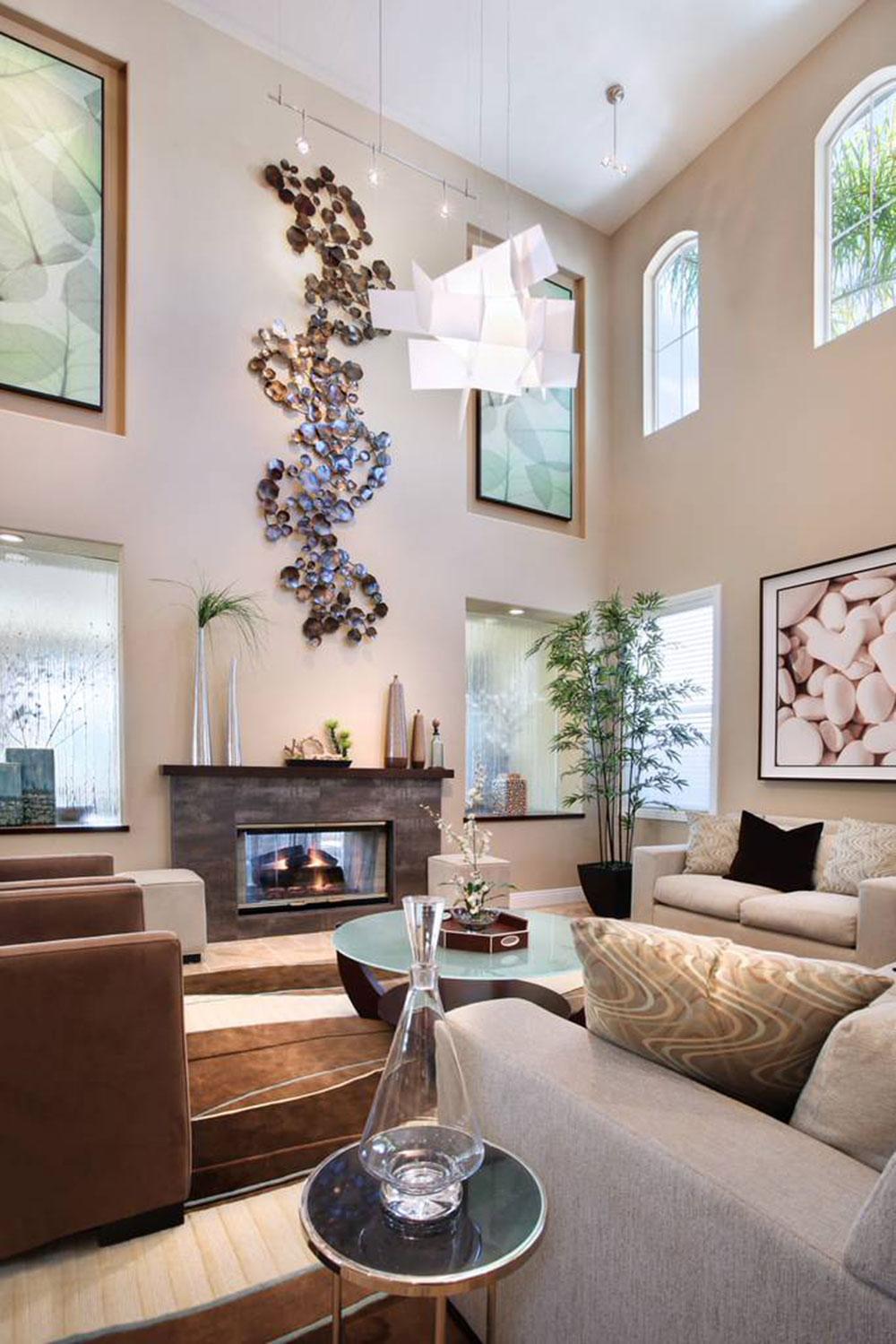 Simple Wall Paintings Living Room