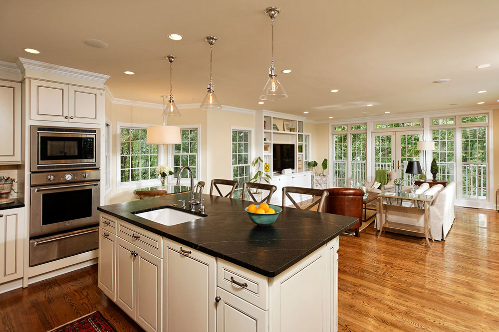 Open Kitchen And Living Room Design Ideas