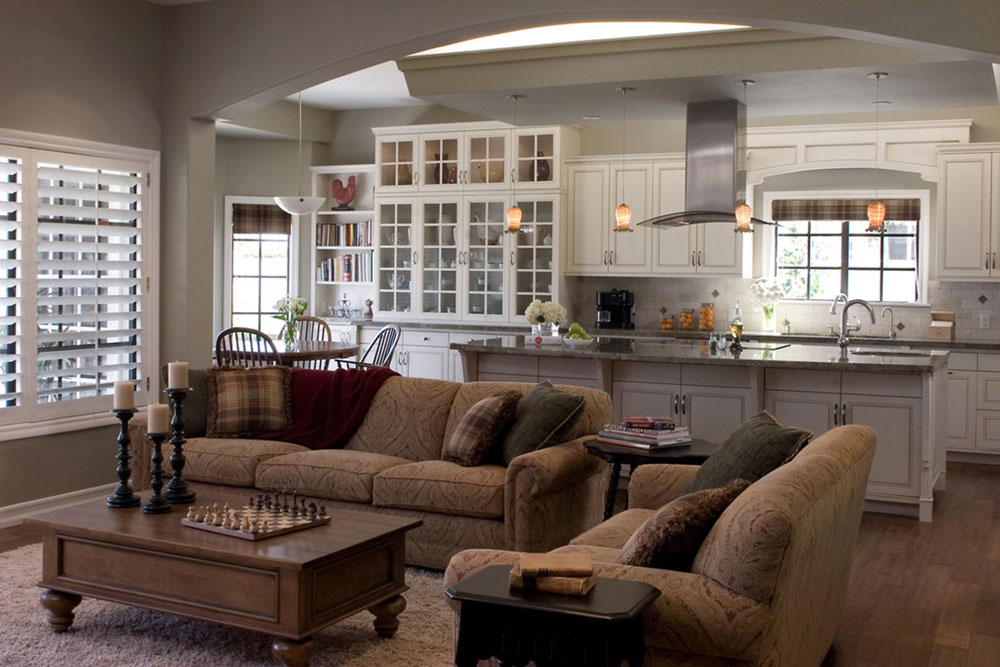 Open Kitchen And Living Room Design Ideas Part 69