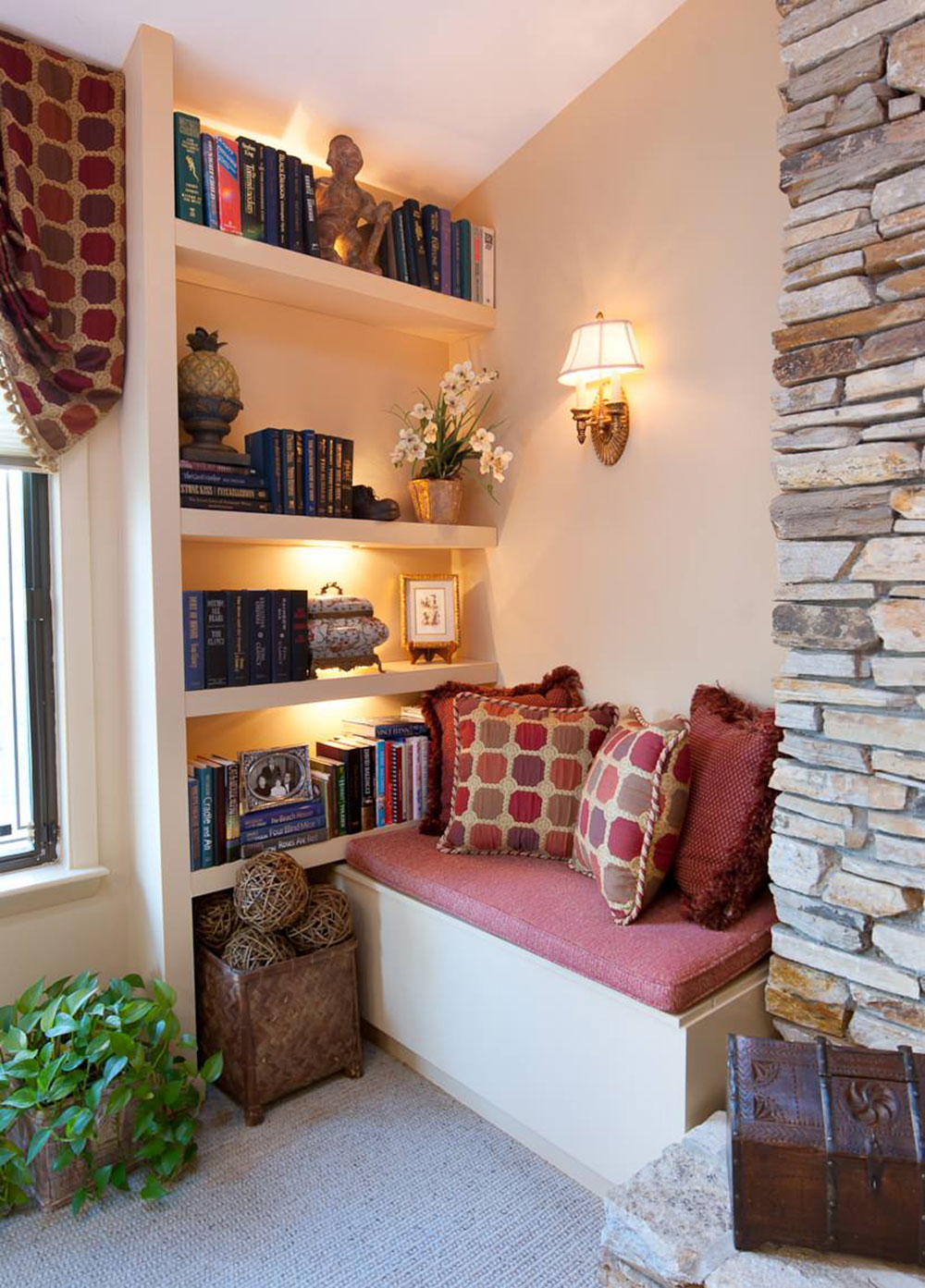 A Collection Of Nook Window Seat Design Ideas on Nook's Cranny Design Ideas  id=35707