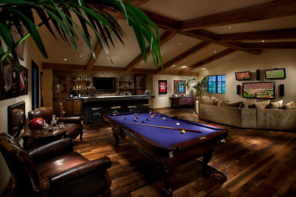 When it comes to escaping the real worl. Fully Equipped Game Room Ideas