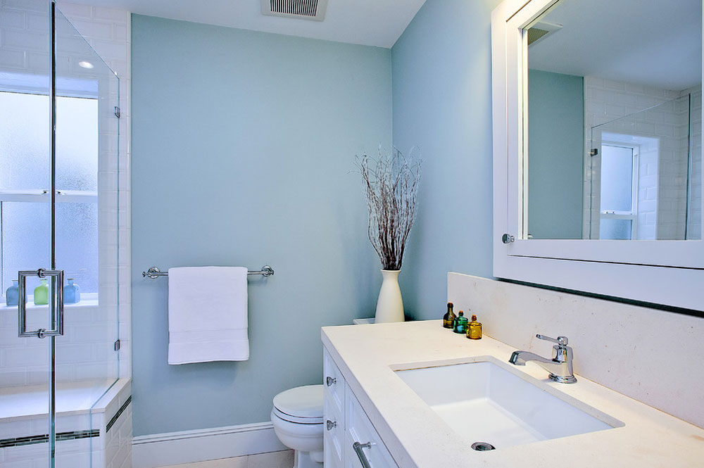 Blue bathroom ideas  Design  d    cor  and accessories Beach Style Bathroom by Melissa Lenox Blue bathroom ideas  Design