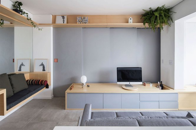 Functional Small Apartment São Paulo Brazil 1 Interior Design Solutions For Your