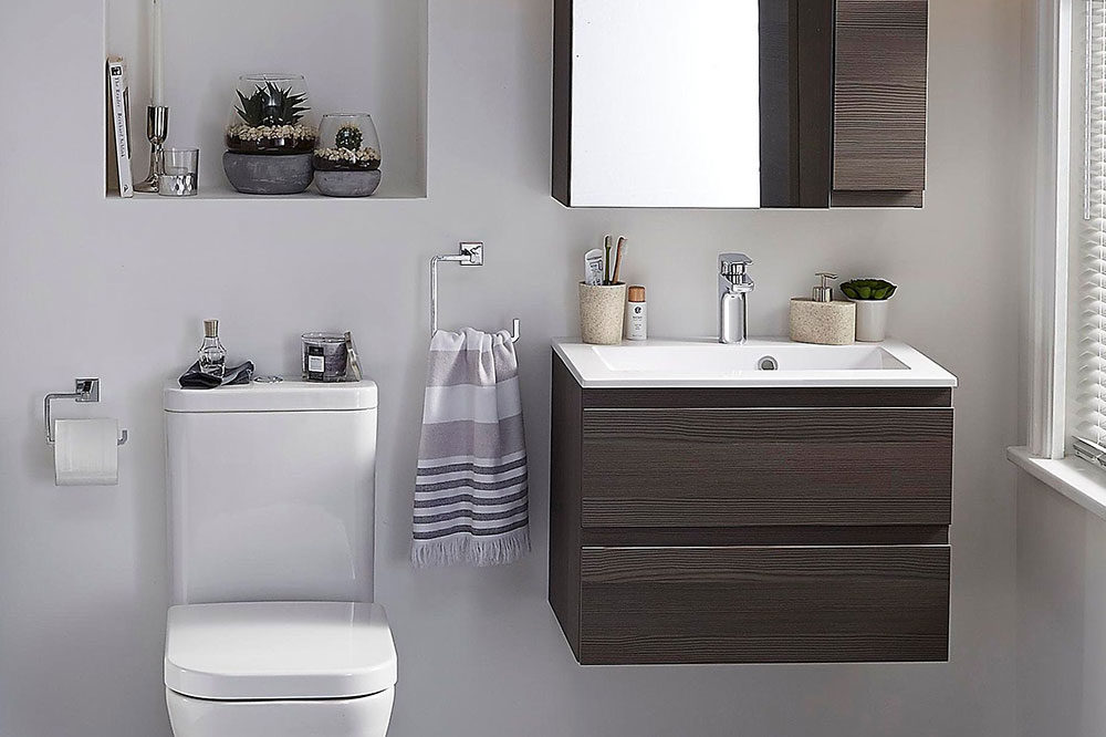 How To Make A Small Bathroom Look Bigger - Tips and Ideas on Small Space Small Bathroom Ideas With Bath And Shower id=16900