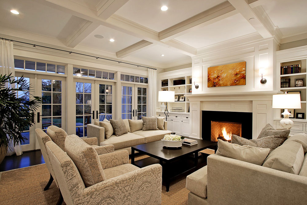 Having A Living Room With Fireplace And A Guide On Decorating One