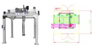 Impianti di Pallettizzazione automatica a Portale