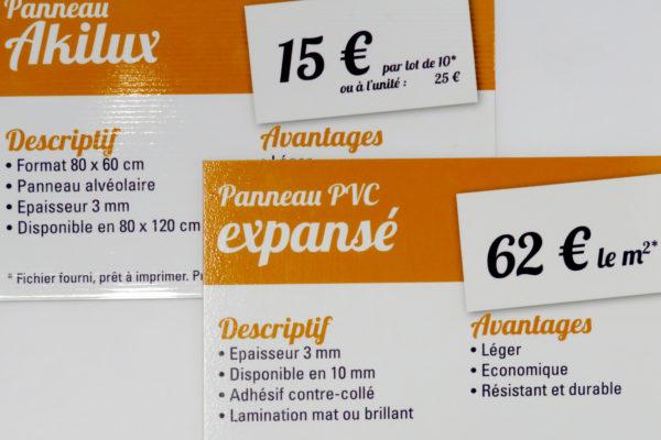 panneaux à Narbonne