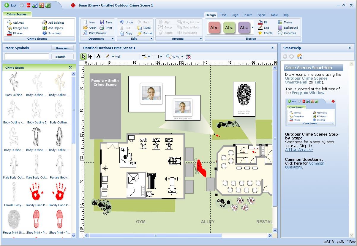 Crime Scene Diagramming Software | Diagrams-Images HD