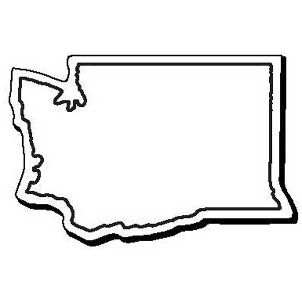 NoteKeeper (TM) - Flexible Washington state shape magnet ...