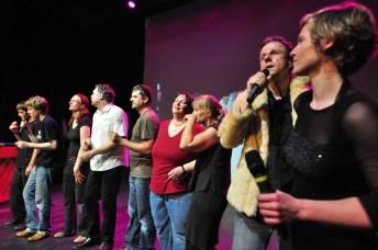 Impro-Cup-Berlin: Song Contest, die Sänger