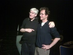 Keith Johnstone und Alexander Wewerka, Foto: Impro-News