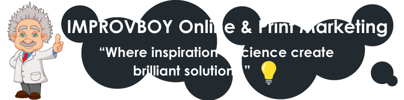 Improvboy Online and Print Marketing