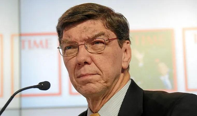 Prof Clayton Christensen. Image: Wikimedia